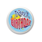 Today's My Birthday Blinking Button