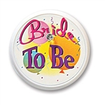 Bride To Be Blinking Button