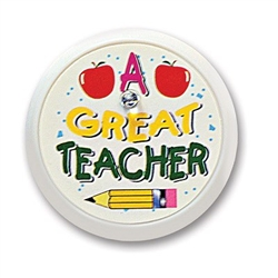 A Great Teacher Blinking Button