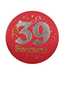 39 Forever Satin Button