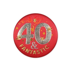 40 And Fantastic Satin Button
