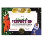 Aged To Perfection Award Certificates