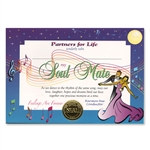 Soul Mate Award Certificates
