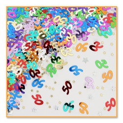 50th Birthday Confetti