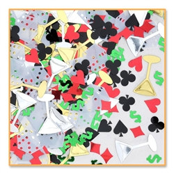 Casino Night Confetti