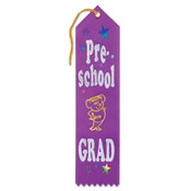 Pre-School Grad Award Ribbon