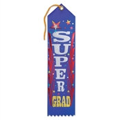 Super Grad Award Ribbon