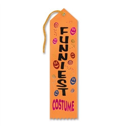Funniest Costume Halloween Ribbon