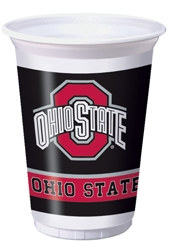 The Ohio State University Plastic Cups (8/pkg)