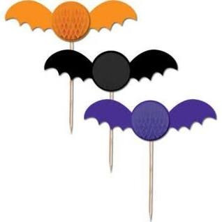 Bat Shaped Picks (6/pkg)
