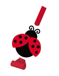 Ladybug Party Blowouts (8/pkg)