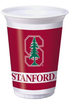 Stanford University Plastic Cups (8/pkg)