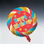 Sugar Rush Mylar Balloon