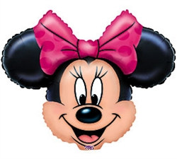 Minnie Mouse Mylar Balloon
