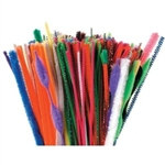 Assorted Chenille Stems (350/pkg)