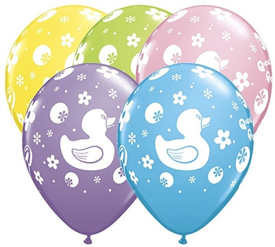 Assorted Baby Shower Latex Balloons
