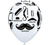 Mustache Latex Balloon