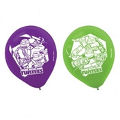 Teenage Mutant Ninja Turtles Latex Balloons (6/pkg)