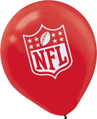 NFL Latex Balloons (6/pkg)