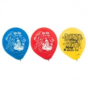 Jake and the Neverland Pirates Latex Balloons (6/pkg)