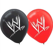 WWE Latex Balloons (6/pkg)