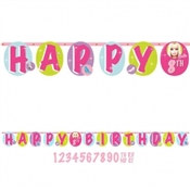 Barbie Birthday Banner