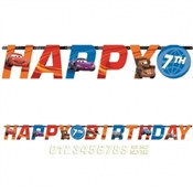 Cars Birthday Banner