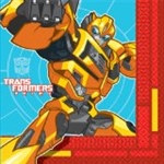Transformers Beverage Napkins (16/pkg)