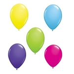 The Solid Color Latex Balloons measure 11 inches when inflated. We offer an array of colors to choose from so no matter what theme party you are having, these balloons are a must have! Sold 6 per package. No returns.