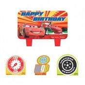 Cars Candle Set (4/pkg)