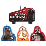 Star Wars Episode VII Birthday Candle Set
