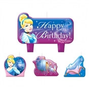 Cinderella Candle Set (4/pkg)