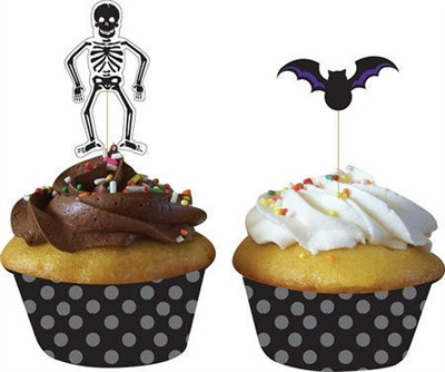 Halloween Cupcake Wrapper (12/pkg)