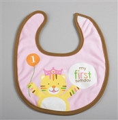 Girl Sweet At One Bib