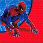 Spider Man Beverage Napkins (16/pkg)