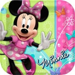 Minnie Mouse Lunch Plates (8/pkg)