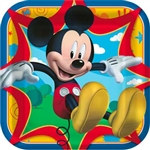 Mickey Mouse Lunch Plates (8/pkg)