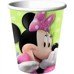 Minnie Mouse Hot/Cold Cups (8/pkg)