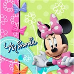 Minnie Mouse Lunch Napkins (16/pkg)