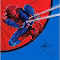 Spider Man Lunch Napkins (16/pkg)