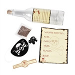 Pirate Invitation In A Bottle
