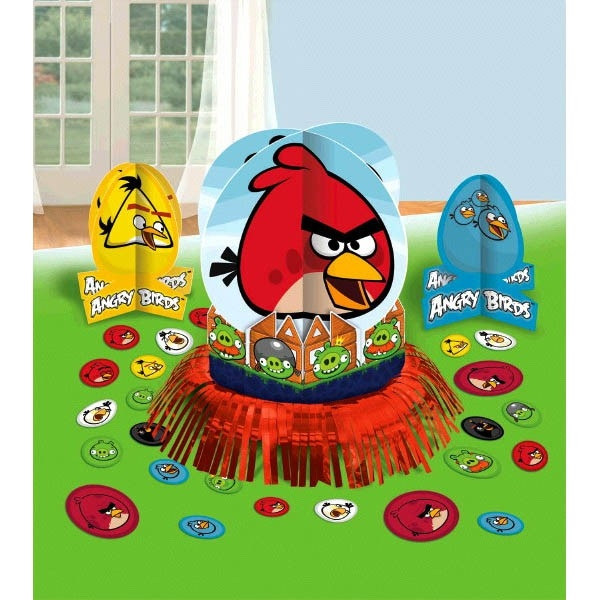 Angry Birds Table Decorating Kit Partycheap
