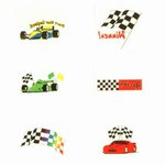 Racing Tattoos (144/pkg)