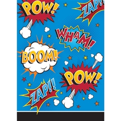 Make sure they all have some party favors to take home, and place them in one of these superhero approved Superhero Slogans Loot Bags! Each cellophane loot bag measures 9 inches by 6.5 inches and features slogans on it! Comes eight loot bags per package.