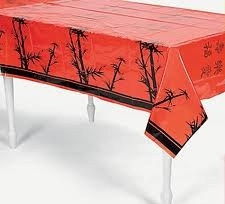 Plastic Chinese New Year Table Cover