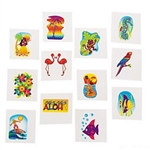 Tropical Tattoos (36/pkg)