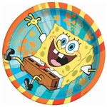Spongebob Lunch Plates (8/pkg)