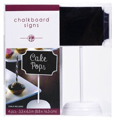 Chalkboard Tablesetting Signs (6/pkg)