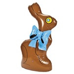 Inflatable Chocolate Bunny