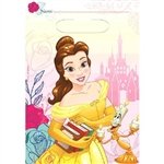 The Beauty and the Beast Loot Bags are wonderful little printed plastic bags that feature an image of Belle and her friend Lumiere. Each bag is perfectly sized to hold party favors and treats to send home with guests.  Package contains eight bags.